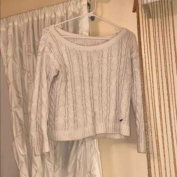 Abercrombie & Fitch Sweaters - White Sweater